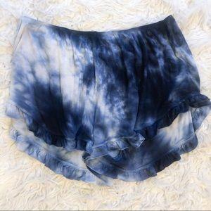 Brandy Melville tie dye vodi shorts